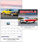 Muscle Thunder Spiral Wall Calendars